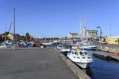 View of the marina Stock Photos