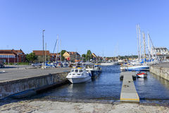 View of the marina Stock Images