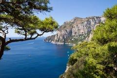 View of Marina Piccola Royalty Free Stock Images