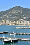 Views of the seafront in the Gulf of Salerno Royalty Free Stock Photo