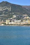 Views of the seafront in the Gulf of Salerno Royalty Free Stock Photos