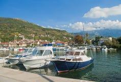 View of marina Royalty Free Stock Image