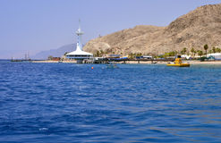 View on marine underwater observatory, Eilat Stock Images