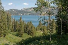 View of Marlette Lake in Lake Tahoe royalty free stock image