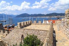 View of Marmaris Tower Royalty Free Stock Photos
