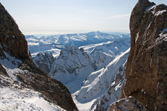 View from Marmolada Royalty Free Stock Photo