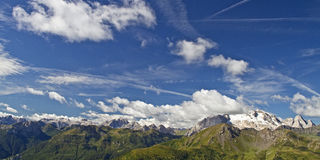 View at Marmolada Royalty Free Stock Images