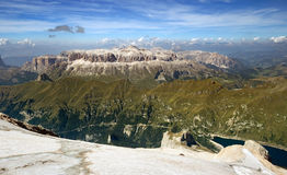 View from marmolada Stock Photo