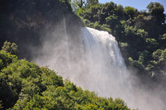 View of Marmore Falls Stock Photography