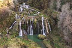 View of Marmore's Falls (Cascata delle Marmore - Umbria, Italy) Stock Images