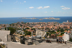 The view of Marseille Royalty Free Stock Photography