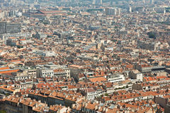 View from Marseille city, France Royalty Free Stock Photography