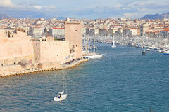 View of Marseille, France Stock Photography