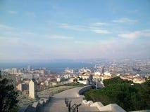 View at Marseille, France. View at Marseille,  France, from Notre-Dame de la Garde basilica Stock Image