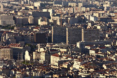View of Marseille from hill. 