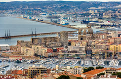 View of Marseille Stock Images