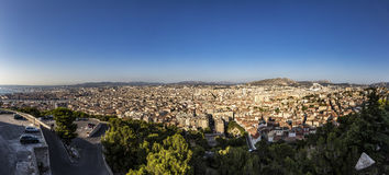 View of Marseille from Notre-Dame de la Garde Royalty Free Stock Images