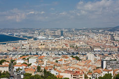 View of Marseille Royalty Free Stock Image