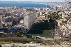 View of Marseilles, France Royalty Free Stock Image