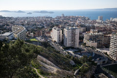 View of Marseilles, France Royalty Free Stock Photography