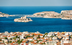 View from Marseilles, France Royalty Free Stock Image