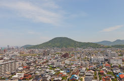 View of Marugame town, Kagawa prefecture, Japan Stock Images
