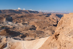 View from Masada Stock Photo