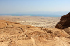 View from Masada, Israel Royalty Free Stock Photo