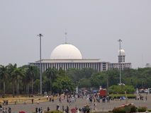 View of Masjid Istiqlal Stock Photography