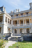 View of Massandra palace with a large terrace Royalty Free Stock Image