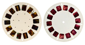 View-master disks Royalty Free Stock Photography