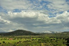 Matabueyes hill in Segovia, Spain royalty free stock photography