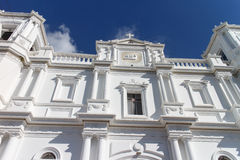 View of Matagalpa cathedral church Stock Image