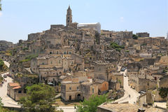 View of Matera, Italy Royalty Free Stock Photo