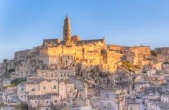 View of Matera, Italy, UNESCO Stock Photos