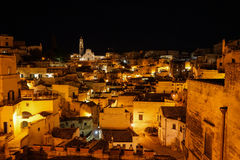 View of Matera royalty free stock images