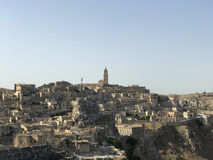 View on the Matera Royalty Free Stock Image
