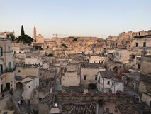 View on the Matera Royalty Free Stock Photography