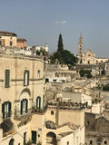 View on the Matera Stock Image