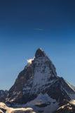 View of Matterhorn Mt. at Zermatt. Switzerland Stock Photography