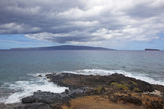 View from Maui, Hawaii Royalty Free Stock Photo