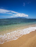 View of Maui from Molokai Stock Photography