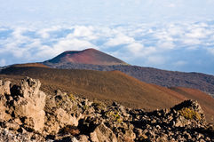 View from Mauna Kea Royalty Free Stock Photo