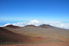 View from Mauna Kea - Big Island, Hawaii Royalty Free Stock Image