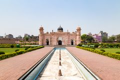 View of Mausoleum of Bibipari in Lalbagh fort, Dhaka, Bangladesh. View of Mausoleum of Bibipari in Lalbagh fort. Lalbagh fort is an incomplete Mughal fortress in stock photography