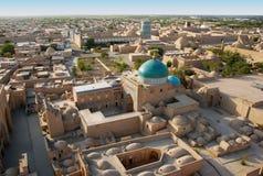 View Mausoleum Pakhlavan Mahmoud royalty free stock photos