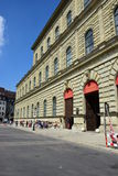 View in the MAX-JOSEPH-PLATZ square in Munich, Germany Royalty Free Stock Image