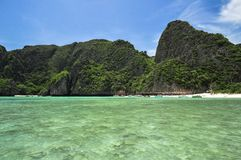 View maya bay Royalty Free Stock Photo