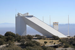 A View of the McMath-Pierce Solar Telescope Royalty Free Stock Images