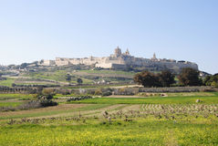 View of Mdina Royalty Free Stock Images